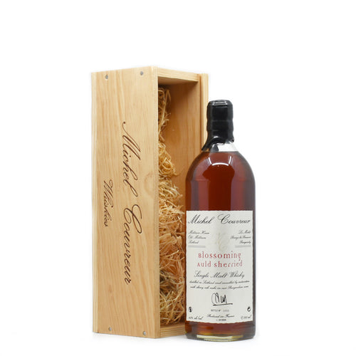 Michel Couvreur Blossoming Auld Sherried Single Malt Whisky 700ml Bottle - Bel & Brio Shop Online | Supermarket , Bottle Shop , Restaurant Deliveries