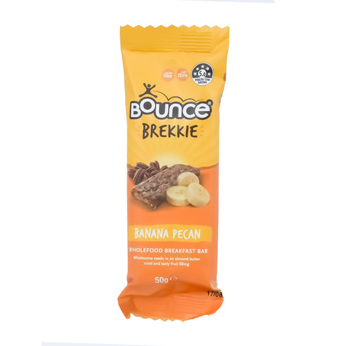 Bounce Brekkie - Banana Pecan 50g - Bel & Brio Shop Online | Supermarket , Bottle Shop , Restaurant Deliveries