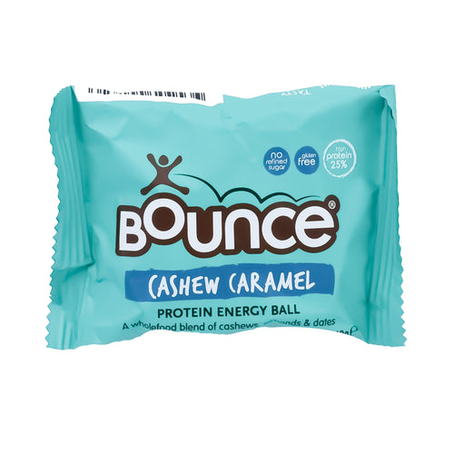 Bounce Protein Energy Ball - Cashew Caramel 40g - Bel & Brio Shop Online | Supermarket , Bottle Shop , Restaurant Deliveries