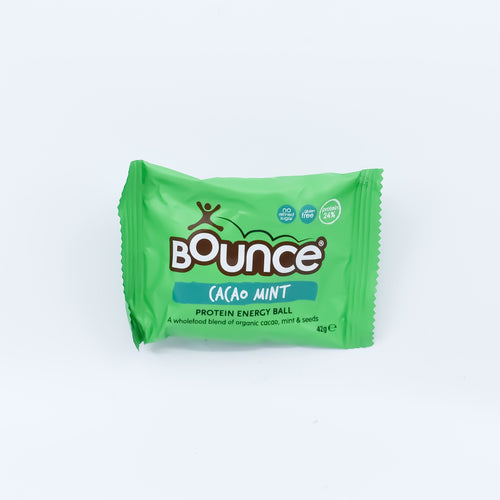 Bounce Protein Energy Ball - Cacao Mint 42g - Bel & Brio Shop Online | Supermarket , Bottle Shop , Restaurant Deliveries
