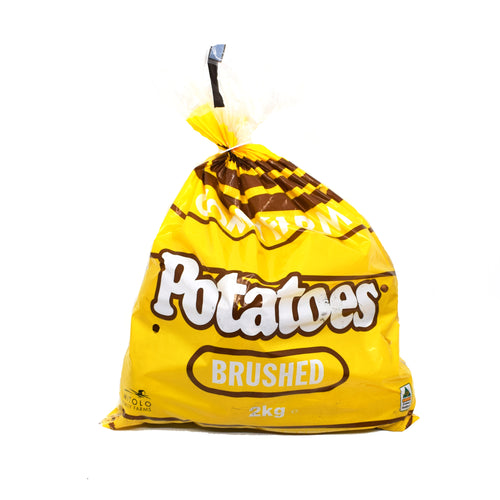 Brushed Potatoes 2kg Bag