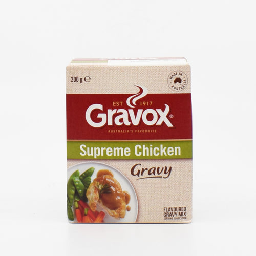 Campbells - Gravox Supreme Chicken Gravy Mix 200g - Bel & Brio Shop Online | Supermarket , Bottle Shop , Restaurant Deliveries