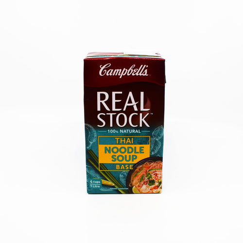 Campbells - Real Stock Thai Noodle Soup Base 100% Natural 1L - Bel & Brio Shop Online | Supermarket , Bottle Shop , Restaurant Deliveries