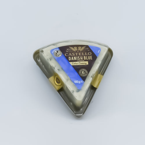 Castello - Danish Blue Extra Creamy 100g - Bel & Brio Shop Online | Supermarket , Bottle Shop , Restaurant Deliveries