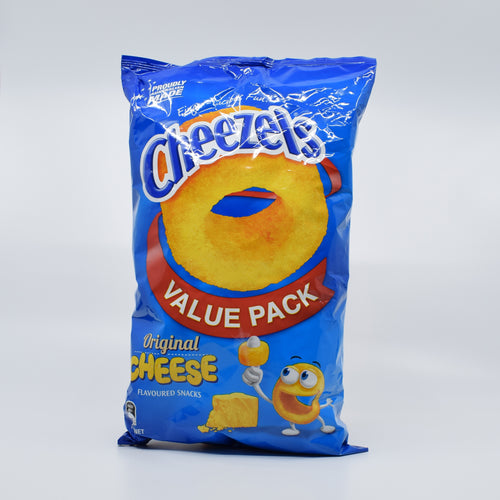 Cheezels Original Cheese Value Pack 190g - Bel & Brio Shop Online | Supermarket , Bottle Shop , Restaurant Deliveries