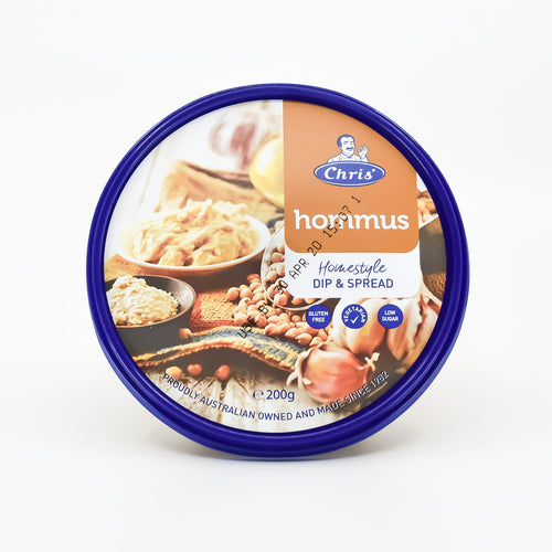 Chris - Hommus 200g - Bel & Brio Shop Online | Supermarket , Bottle Shop , Restaurant Deliveries