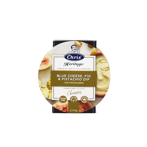 Chris - Blue Cheese, Fig & Pistachio Dip 170g