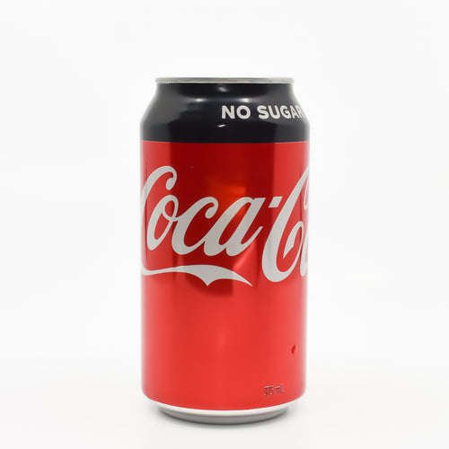 Coca Cola No Sugar 375ml - Bel & Brio Shop Online | Supermarket , Bottle Shop , Restaurant Deliveries