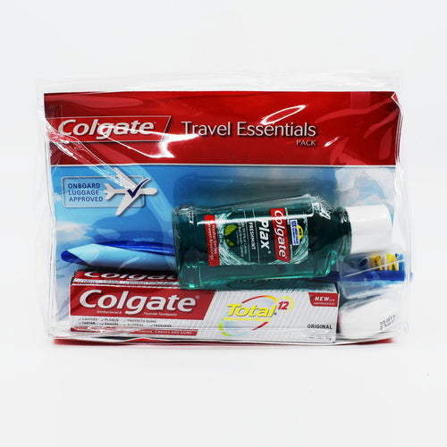 Colgate Travel Essentials PackåÊ - Bel & Brio Shop Online | Supermarket , Bottle Shop , Restaurant Deliveries