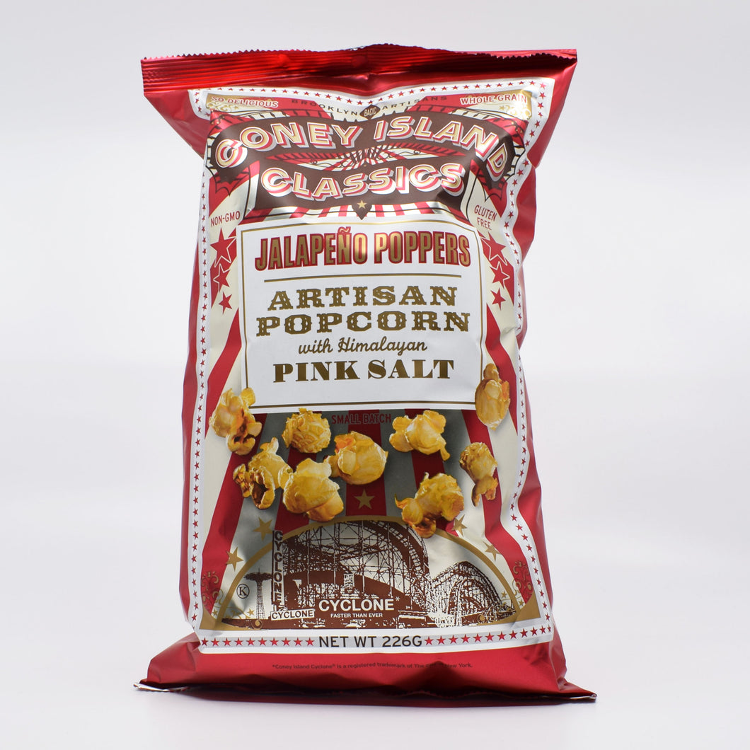 Coney Island - Jalapeno Poppers Popcorn 226g - Bel & Brio Shop Online | Supermarket , Bottle Shop , Restaurant Deliveries