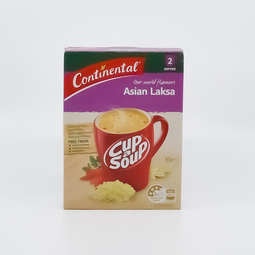 Continental Cup A Soup Asian Laksa (2 Serves) - Bel & Brio Shop Online | Supermarket , Bottle Shop , Restaurant Deliveries