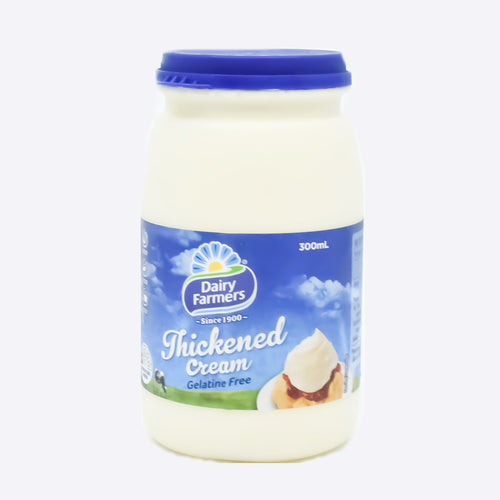 Dairy Farmers Thickened Cream 300ml - Bel & Brio Shop Online | Supermarket , Bottle Shop , Restaurant Deliveries