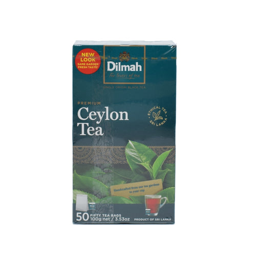 Dilmah - Ceylon Tea Bags (50 Bags) - Bel & Brio Shop Online | Supermarket , Bottle Shop , Restaurant Deliveries