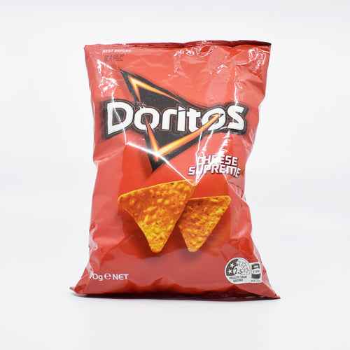 Doritos - Cheese Supreme 170g - Bel & Brio Shop Online | Supermarket , Bottle Shop , Restaurant Deliveries