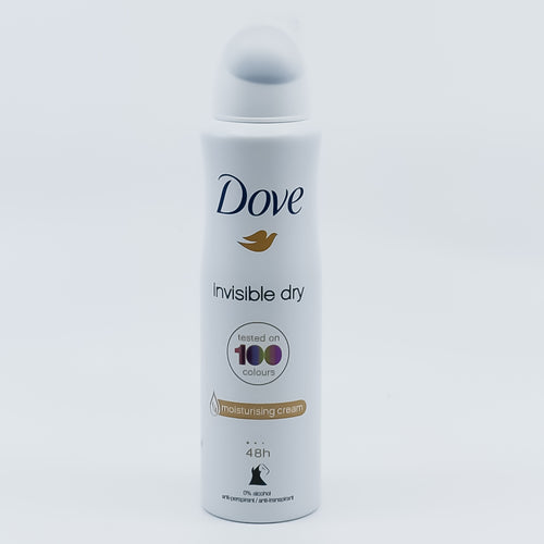 Dove Invisible Dry 1/4 Moisturising Cream Anti-Perspirant 150ml - Bel & Brio Shop Online | Supermarket , Bottle Shop , Restaurant Deliveries