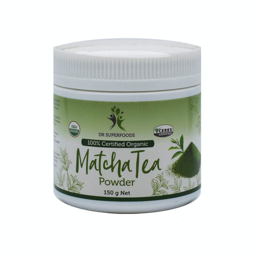 Dr Superfoods - Matcha Tea Powder 150g - Bel & Brio Shop Online | Supermarket , Bottle Shop , Restaurant Deliveries