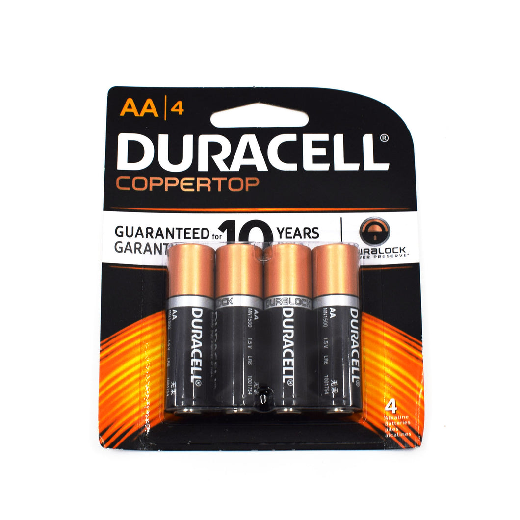 Duracell AA Batteries 4 Pack - Bel & Brio Shop Online | Supermarket , Bottle Shop , Restaurant Deliveries