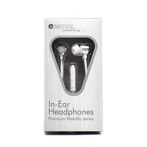 E-sonic - In-Ear Headphones Premium Metallic Series