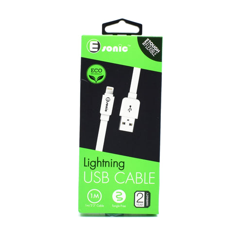 E-sonic - Lightning USB Cable 1m
