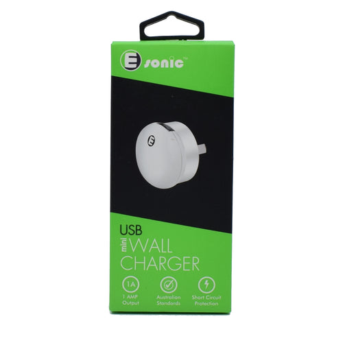 E-sonic - USB Mini Wall Charger