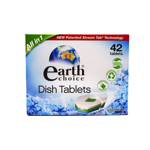 Earth Choice Dish Tablets (42 Tablets) - Bel & Brio Shop Online | Supermarket , Bottle Shop , Restaurant Deliveries