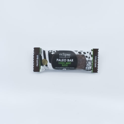 Eclipse Organics - Chocolate Mint Slice Paleo Bar 45g - Bel & Brio Shop Online | Supermarket , Bottle Shop , Restaurant Deliveries