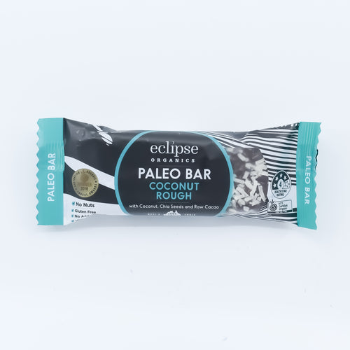 Eclipse Organics - Coconut Rough Paleo Bar 45g - Bel & Brio Shop Online | Supermarket , Bottle Shop , Restaurant Deliveries