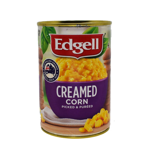Edgell - Creamed Corn 420g - Bel & Brio Shop Online | Supermarket , Bottle Shop , Restaurant Deliveries