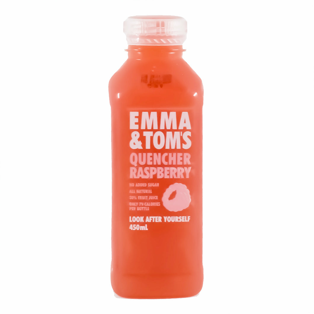 Emma & Tom's - Quencher Raspberry 450ml