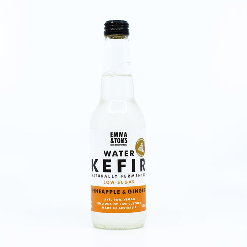 Emma & Tom's Water Kefir Pineapple & Ginger 330ml