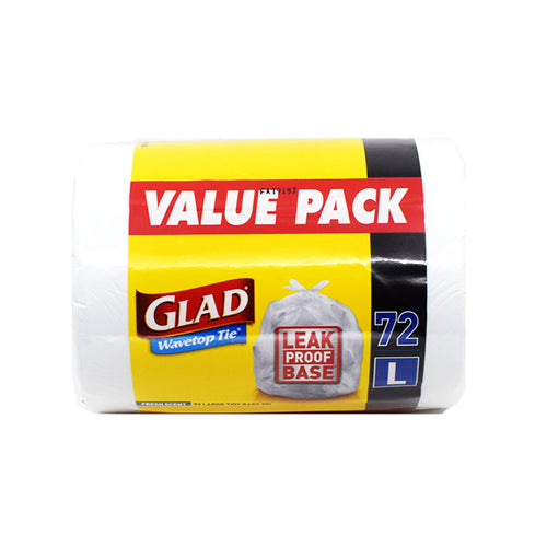 Glad Large Tidy Bags 35L (72 Pack) - Bel & Brio Shop Online | Supermarket , Bottle Shop , Restaurant Deliveries