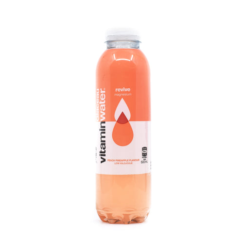 Glauceau Vitamin Water Peach & Pineapple 500ml