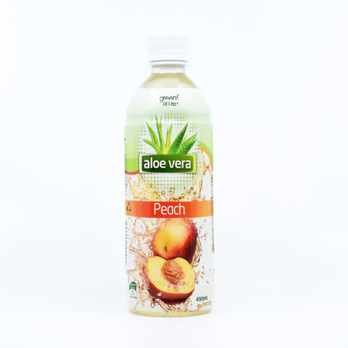 Green Time Aloe Vera Peach 490ml