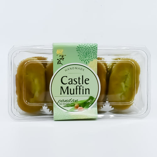 Handmade Castle Muffin Pandan (8pcs) - Bel & Brio Shop Online | Supermarket , Bottle Shop , Restaurant Deliveries
