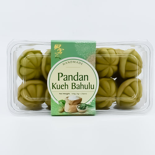 Handmade Pandan Kueh Bahulu (20pcs) - Bel & Brio Shop Online | Supermarket , Bottle Shop , Restaurant Deliveries