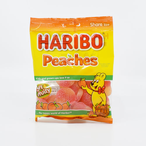 Haribo Peaches 142g - Bel & Brio Shop Online | Supermarket , Bottle Shop , Restaurant Deliveries