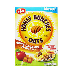 Honey Bunches Of Oats Cereal (Apple Caramel Crunch) 368g