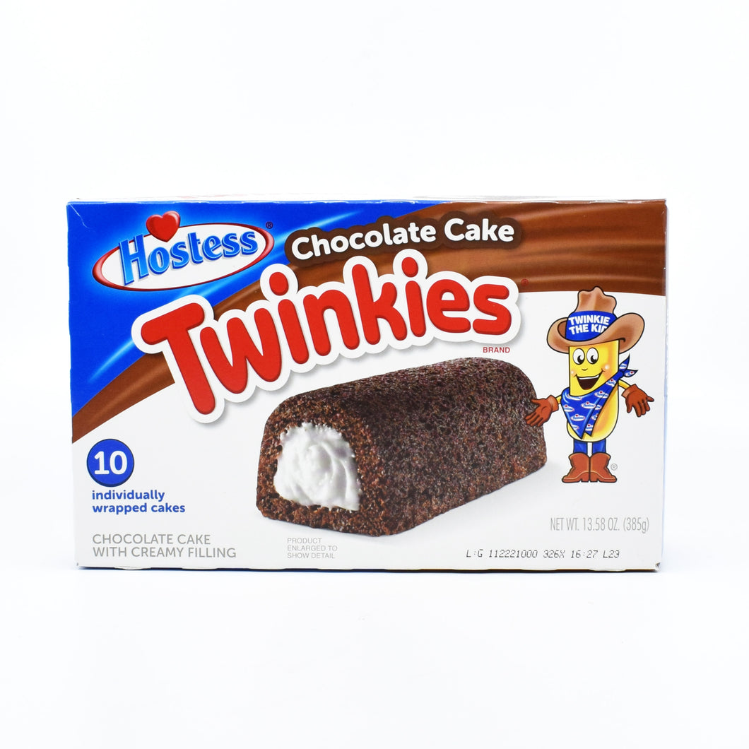 Hostess Twinkies Chocolate Cake (10 Cakes) 385g