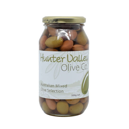 Hunter Valley - Australian Mixed Olive Selection 500g - Bel & Brio Shop Online | Supermarket , Bottle Shop , Restaurant Deliveries