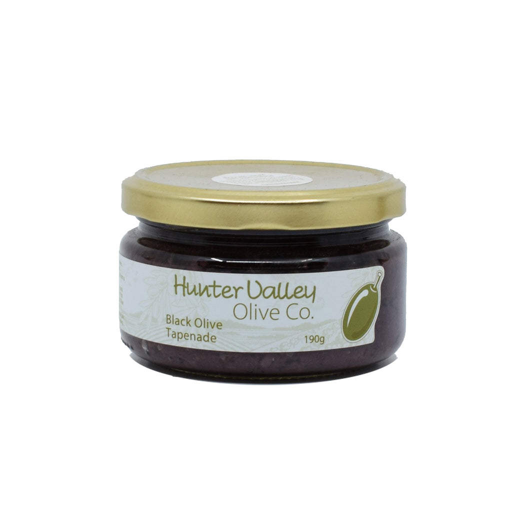 Hunter Valley Olive Co - Black Olive Tapenade 190g
