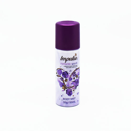 Impulse Body Mist Romantic Spark 50ml - Bel & Brio Shop Online | Supermarket , Bottle Shop , Restaurant Deliveries