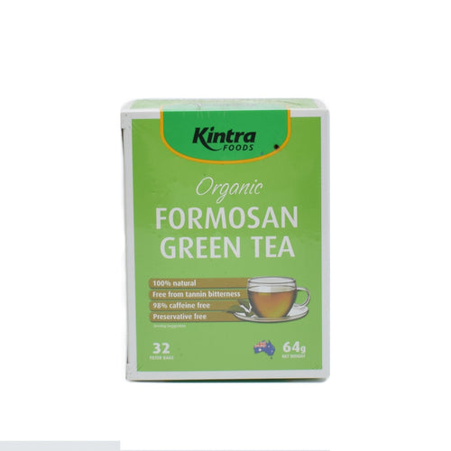 Kintra Foods - Organic Formosan Green Tea (32 Bags) - Bel & Brio Shop Online | Supermarket , Bottle Shop , Restaurant Deliveries