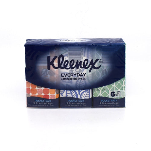 Kleenex Tissues (6 Pack) - Bel & Brio Shop Online | Supermarket , Bottle Shop , Restaurant Deliveries