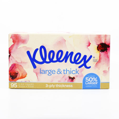 Kleenex Tissues Large & Thick (95 Pack)