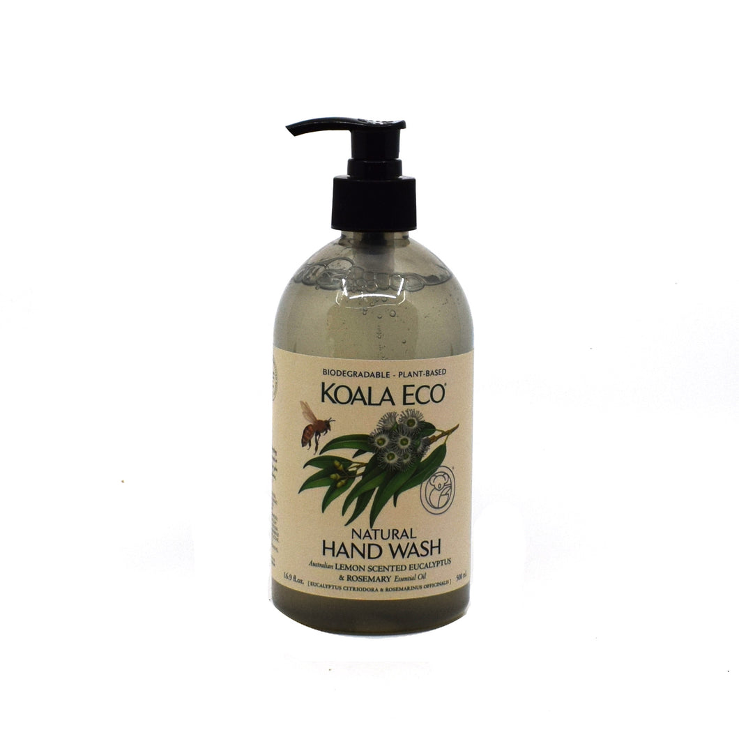 Koala Eco Natural Hand Wash (Lemon Scented Eucalyptus & Rosemary) 500ml - Bel & Brio Shop Online | Supermarket , Bottle Shop , Restaurant Deliveries