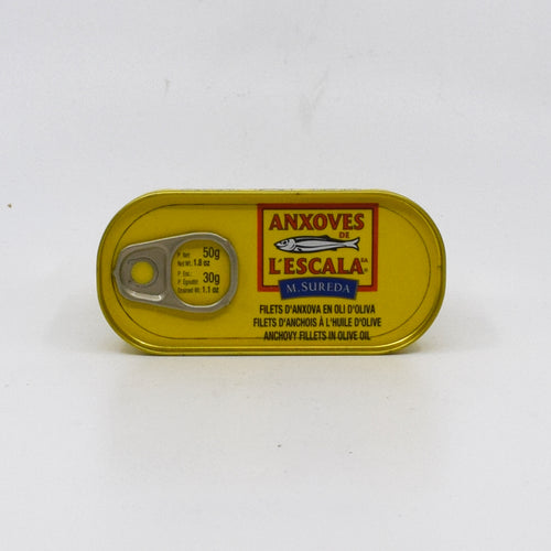 L'Escala Anchovies In Oil 50g - Bel & Brio Shop Online | Supermarket , Bottle Shop , Restaurant Deliveries