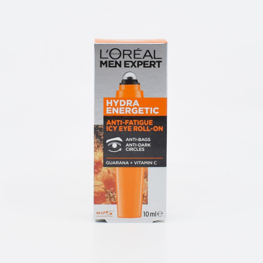 L'Oreal Men Expert Hydra Energetic Anti-Fatigue Icy Eye Roll-On 10ml - Bel & Brio Shop Online | Supermarket , Bottle Shop , Restaurant Deliveries