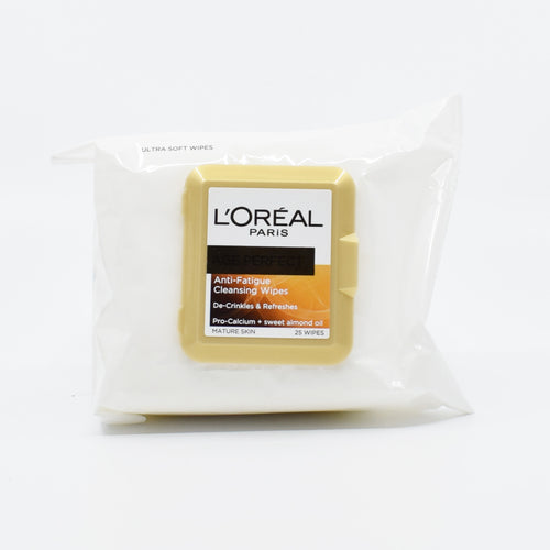 L'Oreal Paris Age Perfect Anti-Fatigue Cleansing Wipes 25 Wipes - Bel & Brio Shop Online | Supermarket , Bottle Shop , Restaurant Deliveries