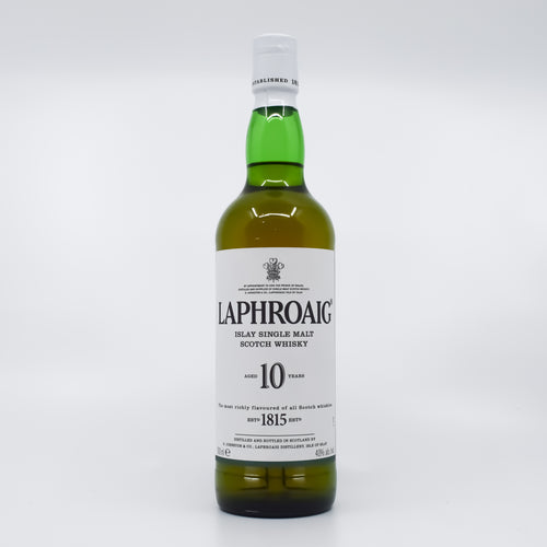 Laphroaig Single Malt 10yo Scotch Whisky 700ml Bottle - Bel & Brio Shop Online | Supermarket , Bottle Shop , Restaurant Deliveries