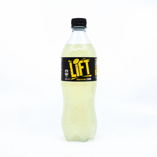 Lift Hard Hitting Lemon 600ml